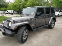 Pre-Owned 2017 Jeep Wrangler Unlimited Sahara Four Wheel Drive SUV