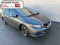 Pre-Owned 2013 Honda Civic EX Sedan Front-wheel Drive in Avondale, AZ