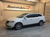 2015 Lincoln MKT AWD Repairable Rear Damage
