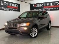 2013 BMW X3 XDRIVE28i NAVIGATION PANORAMIC ROOF REAR CAMERA PARK ASSIST HEATED LEATHER