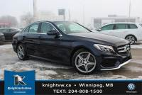 Pre-Owned 2017 Mercedes-Benz C-Class C 300 w/ AMG/Led/Premium Plus/Heated Steering Wheel AWD 4MATIC 4dr Car