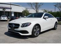 Certified Pre-Owned 2018 Mercedes-Benz E 400 Rear Wheel Drive COUPE