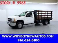 2013 Chevrolet Silverado 3500HD ~ Diesel ~ 11ft Stake Bed ~ Only 60K Miles!