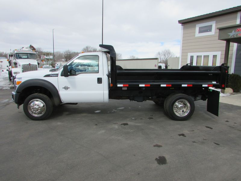 Photo Used 2014 Ford F-550 6.7 Contractor Dump Truck