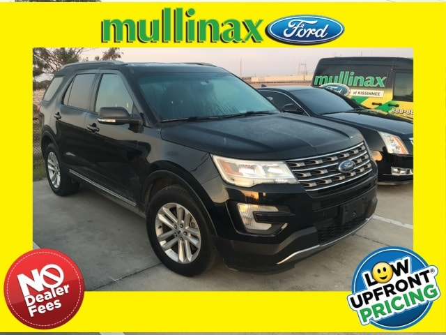 Photo Used 2016 Ford Explorer XLT W NAV, Hands Free Liftgate, Leather SUV I-4 cyl in Kissimmee, FL