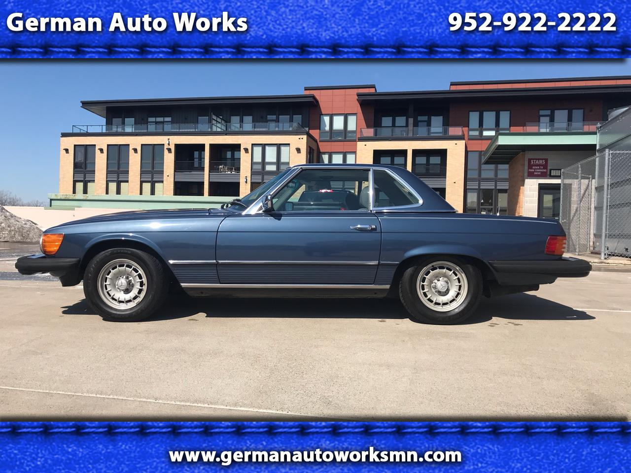 Photo 1983 Mercedes-Benz 380 Series 2dr Roadster 380SL