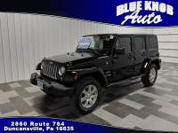 2018 Jeep Wrangler JK Unlimited Sahara 4x4 SUV in Duncansville | Serving Altoona, Ebensburg, Huntingdon, and Hollidaysburg PA