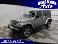 2016 Jeep Wrangler JK Unlimited Sahara 4x4 SUV in Duncansville | Serving Altoona, Ebensburg, Huntingdon, and Hollidaysburg PA