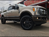 2017 Ford F-250 SD LARIAT CREW CAB SHORT BED 4WD CUSTOM LEVELED