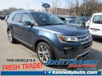 Certified 2018 Ford Explorer Limited SUV 6-Cylinder SMPI Turbocharged DOHC in Jenkintown