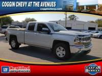 Certified 2017 Chevrolet Silverado 1500 LT 2WD Double Cab 143.5 LT w/1LT in Jacksonville FL