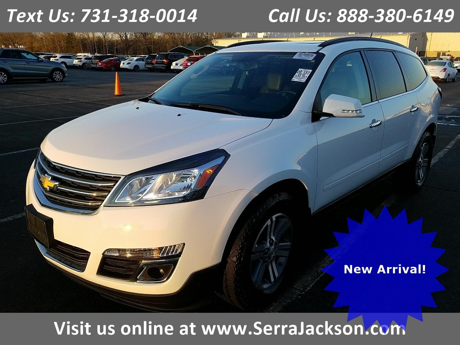 Photo Certified Pre-Owned 2016 Chevrolet Traverse LT in Jackson, TN
