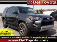 Certified Pre-Owned 2018 Toyota 4Runner For Sale in Thorndale, PA | Near Malvern, Coatesville, West Chester & Downingtown, PA | VIN:JTEBU5JR8J5534189