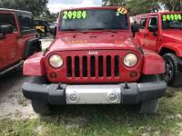 2012 Jeep Wrangler Unlimited Sahara SUV For Sale in LaBelle, near Fort Myers