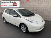 Pre-Owned 2013 Nissan LEAF Hatchback Front-wheel Drive in Avondale, AZ