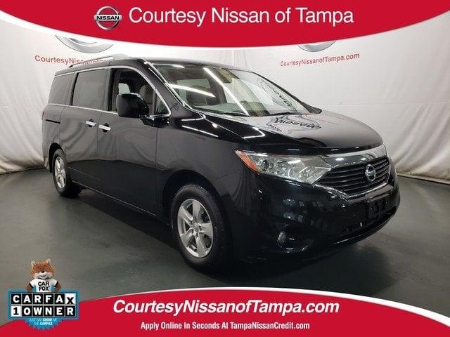 Photo Certified 2017 Nissan Quest SV Van Passenger Van in Jacksonville FL