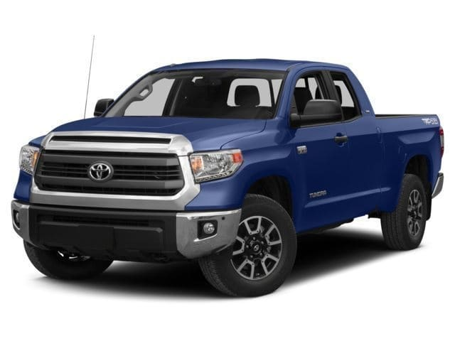 Photo Used 2016 Toyota Tundra SR 4.6L V8 Truck Double Cab for sale in Carrollton, TX
