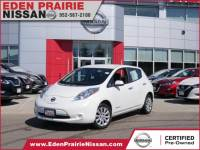 Certified Pre-Owned 2015 Nissan LEAF S FWD 4dr Car