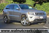 Certified Used 2016 Jeep Grand Cherokee Overland Sport Utility 4D SUV in Walnut Creek