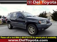 Used 2002 Jeep Grand Cherokee Laredo For Sale in Thorndale, PA | Near West Chester, Malvern, Coatesville, & Downingtown, PA | VIN: 1J4GW48N72C121320