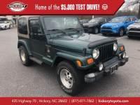 Used 2000 Jeep Wrangler Sahara SUV
