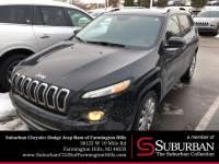 Used 2016 Jeep Cherokee Limited SUV   Farmington Hills, MI