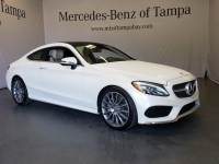 Certified 2017 Mercedes-Benz C-Class C 300 Coupe in Jacksonville FL