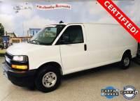Used 2018 Chevrolet Express 2500 Work Van Van Extended Cargo Van for sale in Carrollton, TX