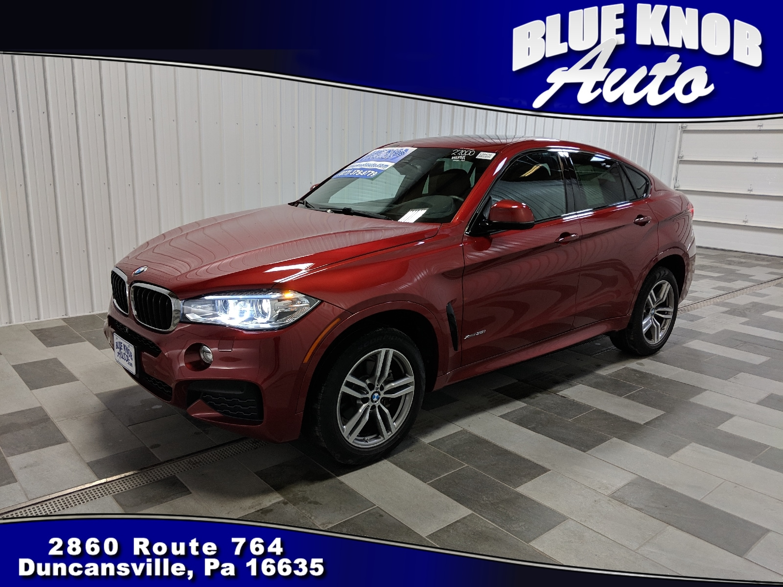 Photo 2016 BMW X6 xDrive35i Sports Activity Coupe in Duncansville  Serving Altoona, Ebensburg, Huntingdon, and Hollidaysburg PA