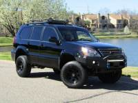 2003 Lexus GX 470 4X4 LIFTED, OFF-ROAD SUSPENSION & ACCESSORIES, TOW BUMPER, CLEARANCE LIGHTS, HEATED SEATS, ROOF RACK & LIGHTS