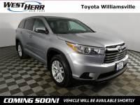 2016 Toyota Highlander SUV For Sale - Serving Amherst