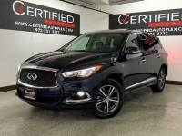 2018 INFINITI QX60 SUNROOF REAR CAMERA HEATED LEATHER SEATS 3RD ROW SEATS REAR A/C DUAL POWER