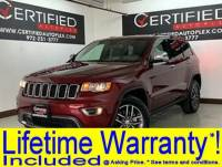 2017 Jeep Grand Cherokee LIMITED HEATED LEATHER SEATS REAR CAMERA REAR PARKING AID BLUETOOTH MEMORY
