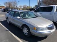 Used 2002 Lincoln Continental 4dr Sdn Base Sedan