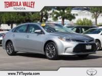 2016 Toyota Avalon XLE Sedan Front-wheel Drive