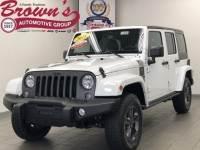 2018 Jeep Wrangler JK Unlimited Freedom pkg SUV
