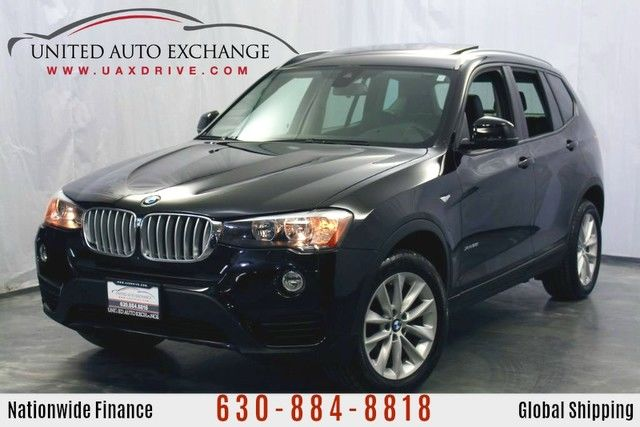 Photo 2017 BMW X3 2.0L Engine AWD xDrive28i w Navigation, Panoramic Sunroof, Hands-Free Bluetooth  USB Audio Connection, Front and Rear Parking Aid with Rear View Camera