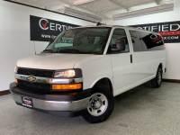2017 Chevrolet Express Passenger LT 3500 EXTENDED 15 PASSENGER VAN FLEX FUEL REAR AIR CONDITIONING KEYLESS E