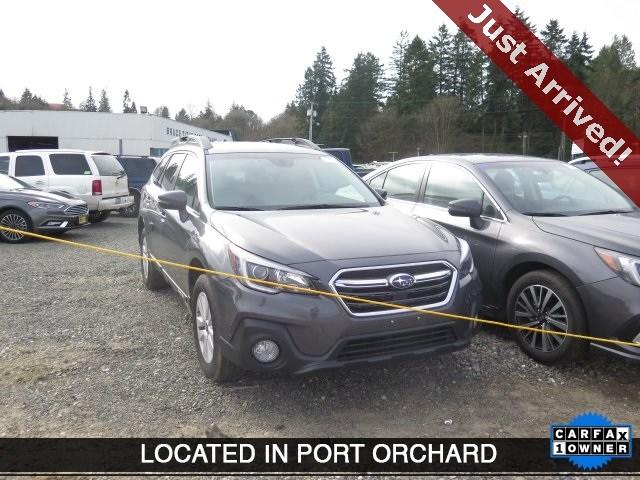 Photo Used 2018 Subaru Outback 2.5i Premium with for Sale in Tacoma, near Auburn WA