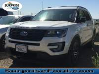 Used 2017 Ford Explorer Sport SUV V-6 cyl For Sale in Surprise Arizona