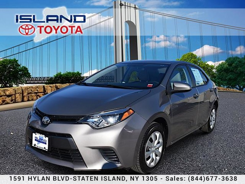 Photo Certified Pre-Owned 2016 Toyota Corolla LE LIFE TIME WARRANTY Front Wheel Drive Sedan