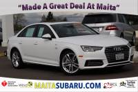 Used 2017 Audi A4 Season of Audi Premium Available in Sacramento CA