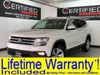 2018 Volkswagen Atlas SE 3.6L V6 BLIND SPOT ASSIST REAR CAMERA HEATED LEATHER SEATS SMART PHONE I