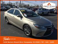 Certified Pre-Owned 2016 Toyota Camry 4dr Sdn I4 Auto SE For Sale Suffolk, VA
