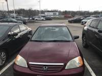 2003 Honda Civic LX w/Side SRS Sedan