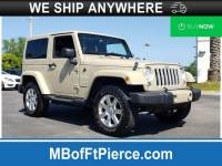 Pre-Owned 2017 Jeep Wrangler JK Sahara 4x4 SUV in Jacksonville FL