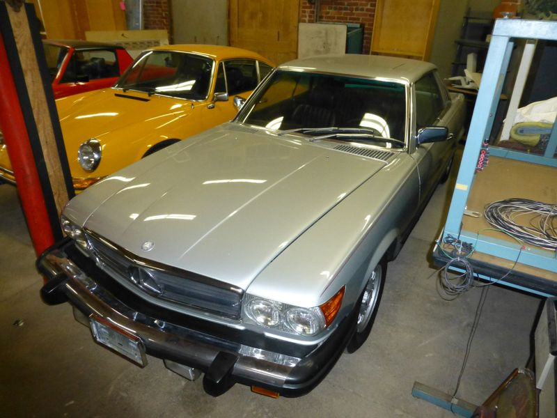 Photo Used 1981 Mercedes-Benz 380 Series 380SLC