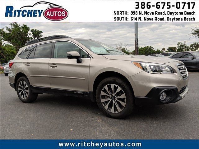 Photo Certified Pre-Owned 2016 Subaru Outback 3.6R Limited in Daytona Beach, FL