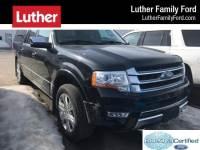 2015 Ford Expedition EL Platinum SUV V-6 cyl