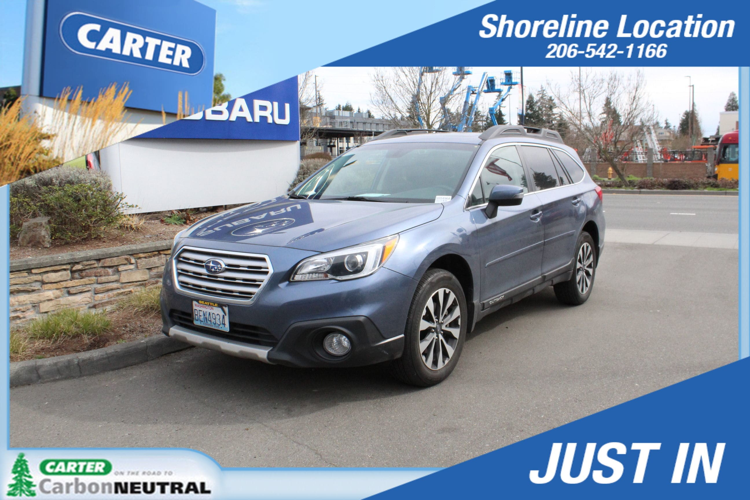 Photo 2017 Subaru Outback Limited For Sale in Seattle, WA